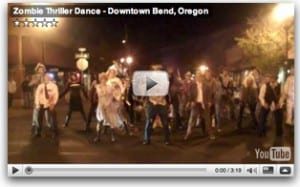 Zombie Dance in Bend